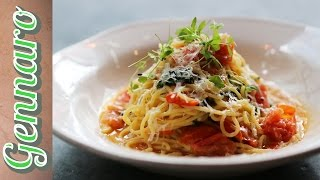Simple Tomato Spaghetti Recipe With Gennaro