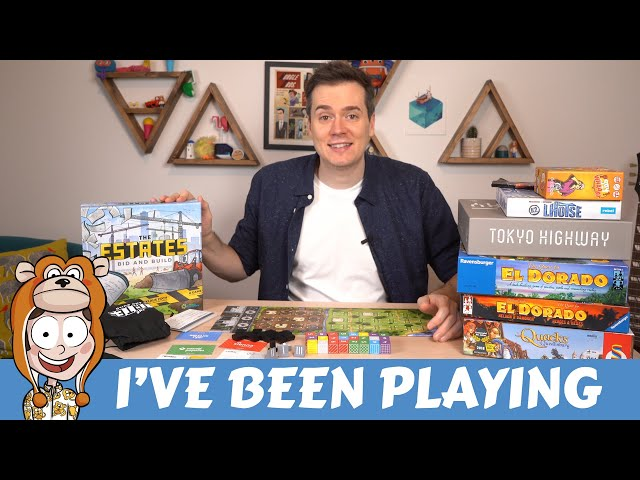 Board Games Ive Been Playing - March 2019