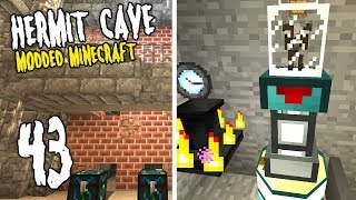 Hermit Cave: 43 | I want some MILK | Modded Minecraft