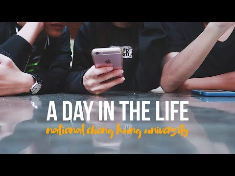 a day in the life (college student) | NCKU Taiwan