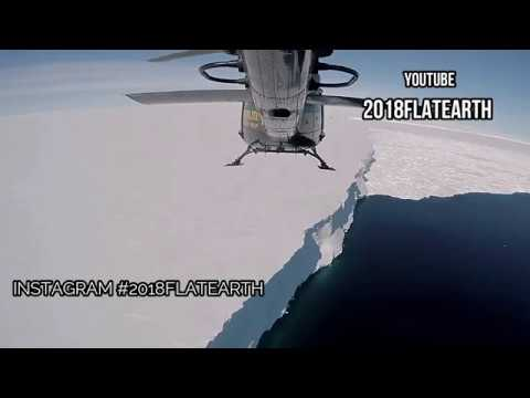 ANTARCTICA THE iCE WALL IN HELICOPTER   The Edge Of The FLAT EARTH thumbnail