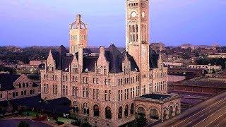 Former Train Station Union Station Hotel Nashville, Autograph Collection, Nashville, Tennessee, USA,