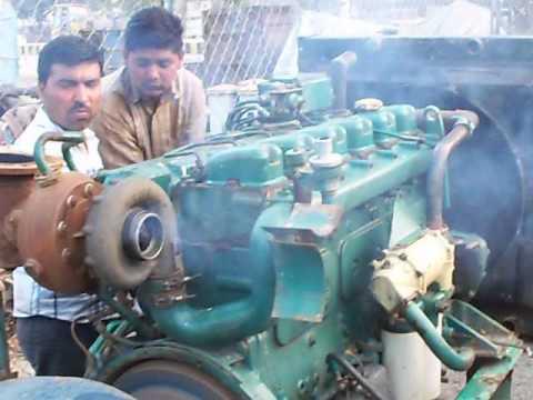 volvo penta marine engine test