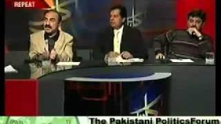 Drunk Pakistani Politician! Corruption is his right. persented by khalid Qadiani.flv