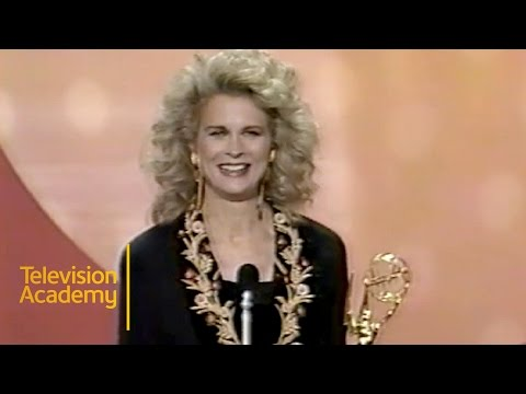 Candice Bergen Wins Outstanding Lead Actress in a Comedy Series  Emmy Archive 1990