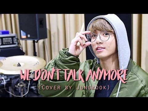 BTS Jungkook - We Don't Talk Anymore (Full Cover)