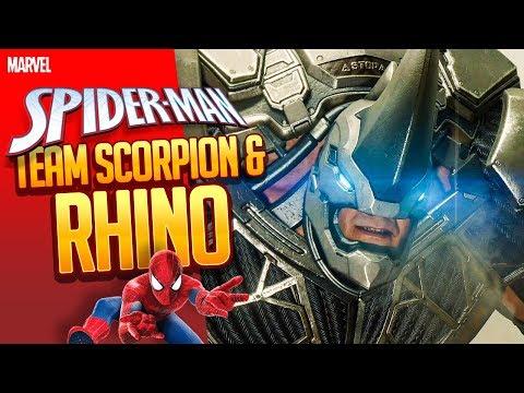 SPIDER-MAN 🕷️ 024: Team RHINO + SCORPION (Wunderwelt der Tiere)