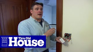 How to Install a Bathroom Fan | Ask This Old House