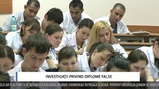 INVESTIGAȚII PRIVIND POSIBILELE DIPLOME FALSE