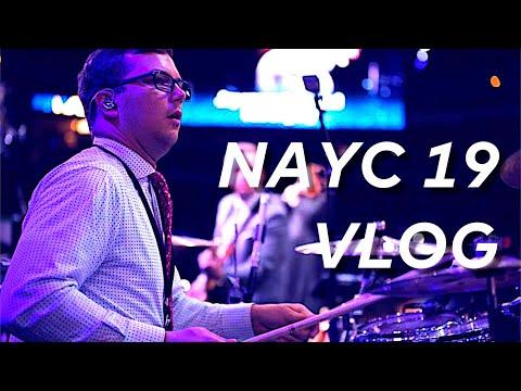 NAYC 2019 // Drum Vlog
