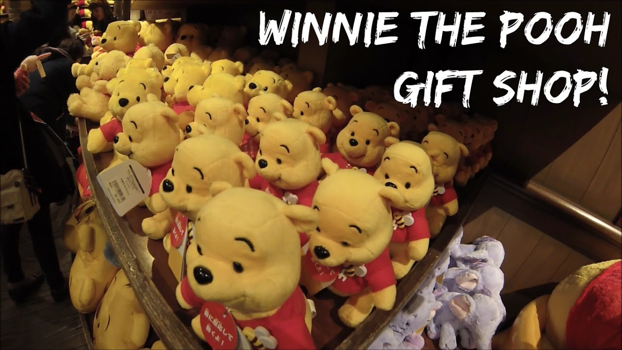 winnie the pooh gift shop at tokyo disneyland cute stuff youtube. Black Bedroom Furniture Sets. Home Design Ideas