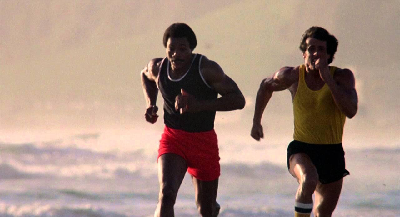 Rocky Iii 1982 Running Training Scene Youtube