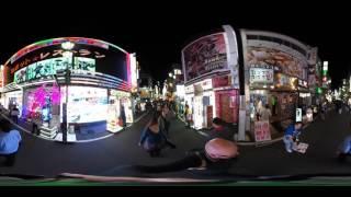 Crazy Shinjuku Tokyo 360 Video
