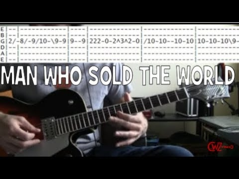 Tab for Man Who Sold the World by Nirvana & David Bowie Guitar ...
