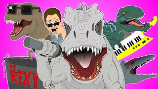 ♪ JURASSIC WORLD THE MUSICAL REMIX - Animated Parody Song