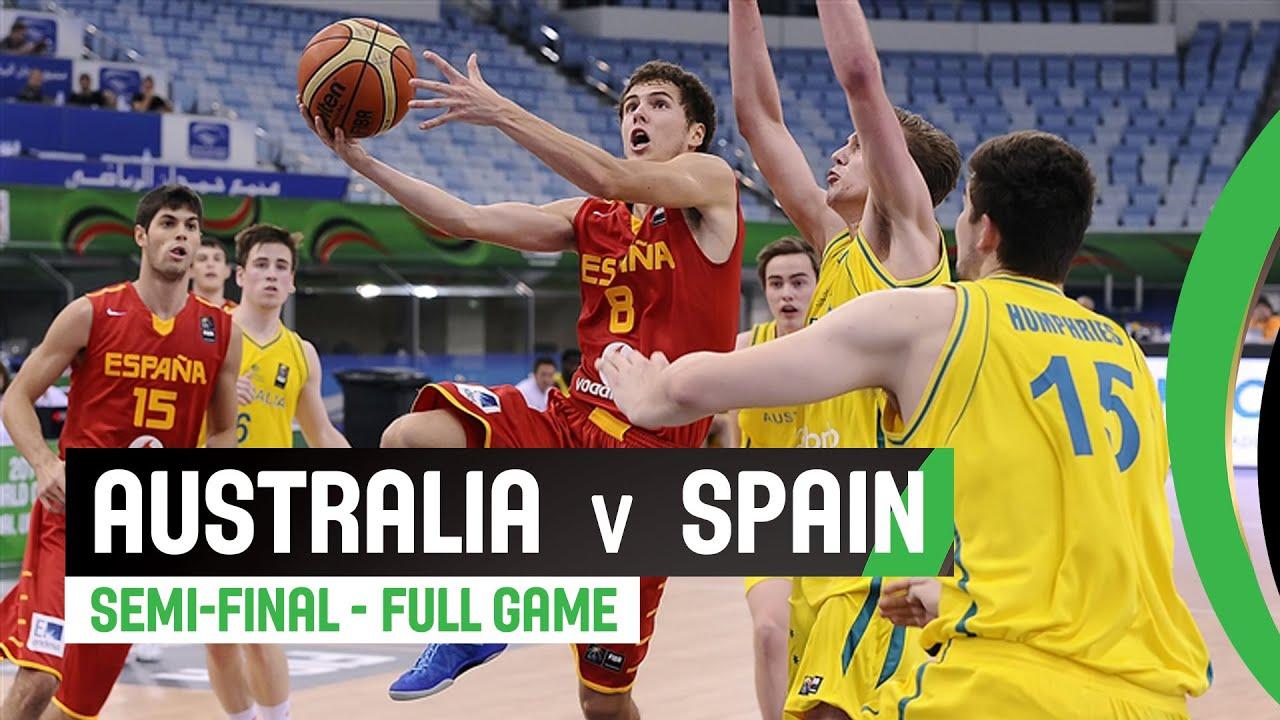 Australia v Spain - Semi-Final Full Game