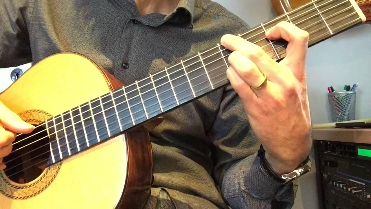 Bossa de 4 accords: leçon de guitare - YouTube