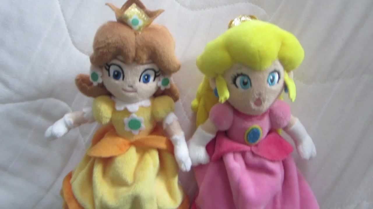 First Official Princess Daisy Plush Youtube