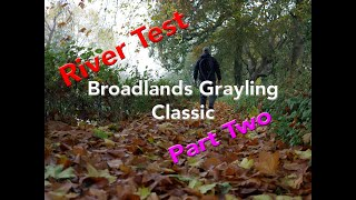 Autumn Fly Fishing the Broadlands Grayling Classic Part 2 2