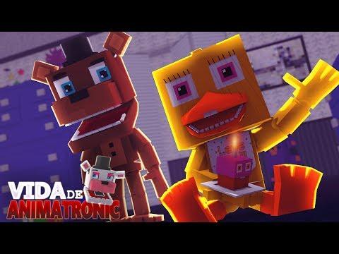 Minecraft: VIDA DE ANIMATRONIC #25 - ANIMATRONICS VIRARAM BEBÊS!! ( FIVE NIGHTS AT FREDDY'S )