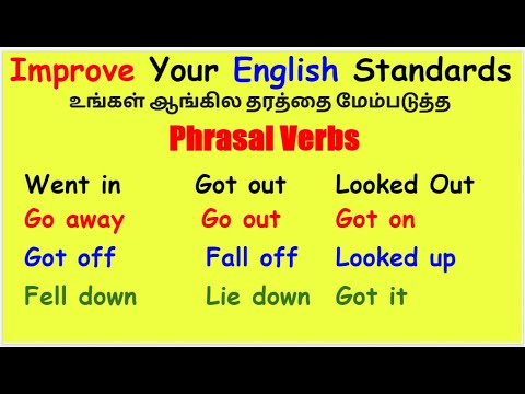 Download Improve Your English Standards | Phrasal Verbs | Bindhu Spoken English In Tamil | Spoken English
