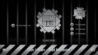 Don Villain - Bad Behavior (Instrumental) [2017|427]