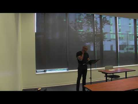CCIE Public Talks: Poetry rendition and African storytelling