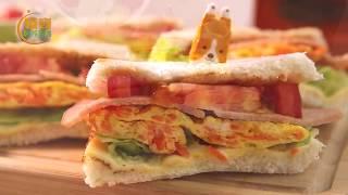 【阿芳廚房】外酥內軟 早餐三明治│鍋寶好食光