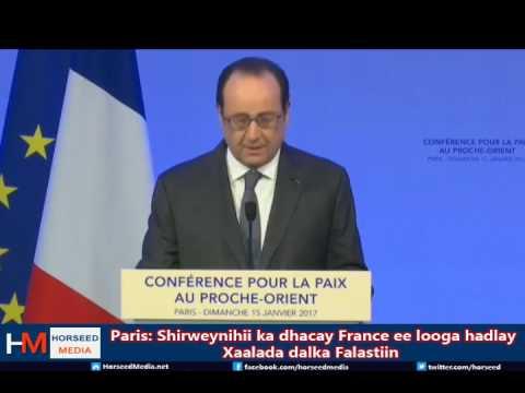 France: 70 Wadan oo ka shiray Xaalada Falastin iyo Israel oo diiday thumbnail