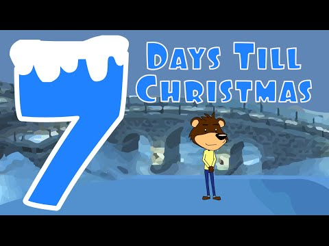Christmas Countdown Song  Seven Days Till Christmas  Numbers Song