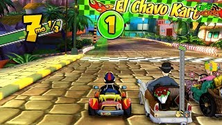 Gameplay - El Chavo Kart - Copa Quico - #GamePlay