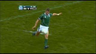 Ronan O'Gara terrible performance vs Argentina 2007 RWC