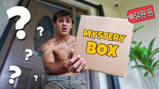 OPENING MYSTERY BOX for SALTWATER AQUARIUM!!