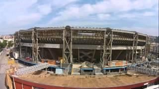 Stadio San Paolo visto dal drone