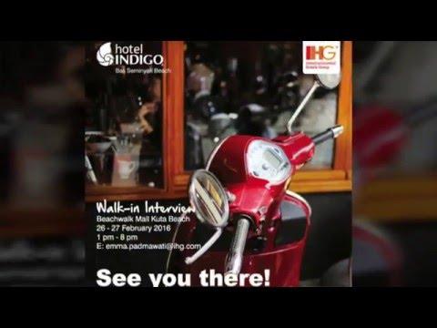Recruitment Day of Hotel Indigo Bali Seminyak Beach (26-27 February 2016)