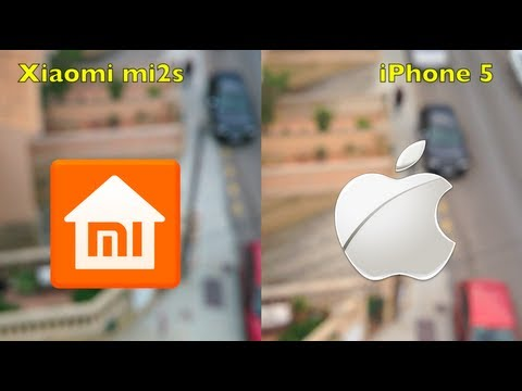 iPhone 5 VS Xiaomi mi2s (cámaras)