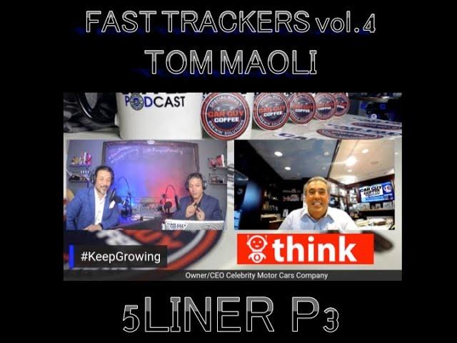 Car Guy Coffee Podcast - #5Liner Pt 3 - Tom Maoli - CEO Celebrity Motor Cars - Serial Entrepreneur