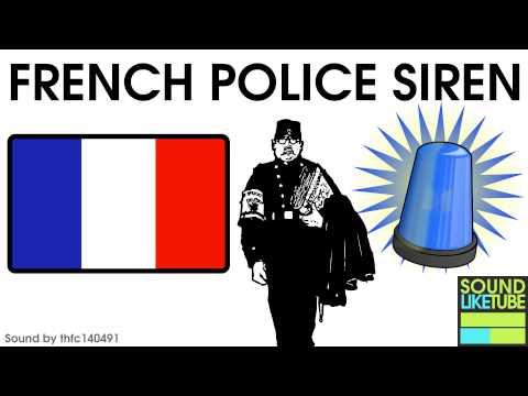 French Police Siren Sound [Sirène De Police Française]