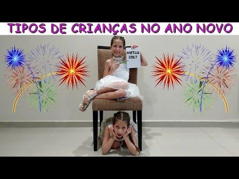 TIPOS DE CRIANÇAS NO ANO NOVO