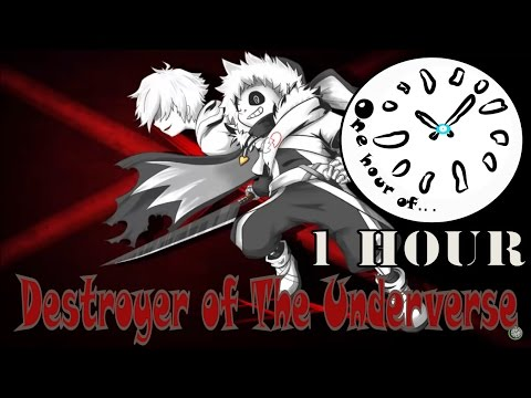 [Undertale AU] Megalovania Remix - Destroyer of The Underverse 1 hour | One Hour of...