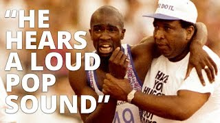 Derek Redmond's Emotional Olympic Story With Lewis Howes