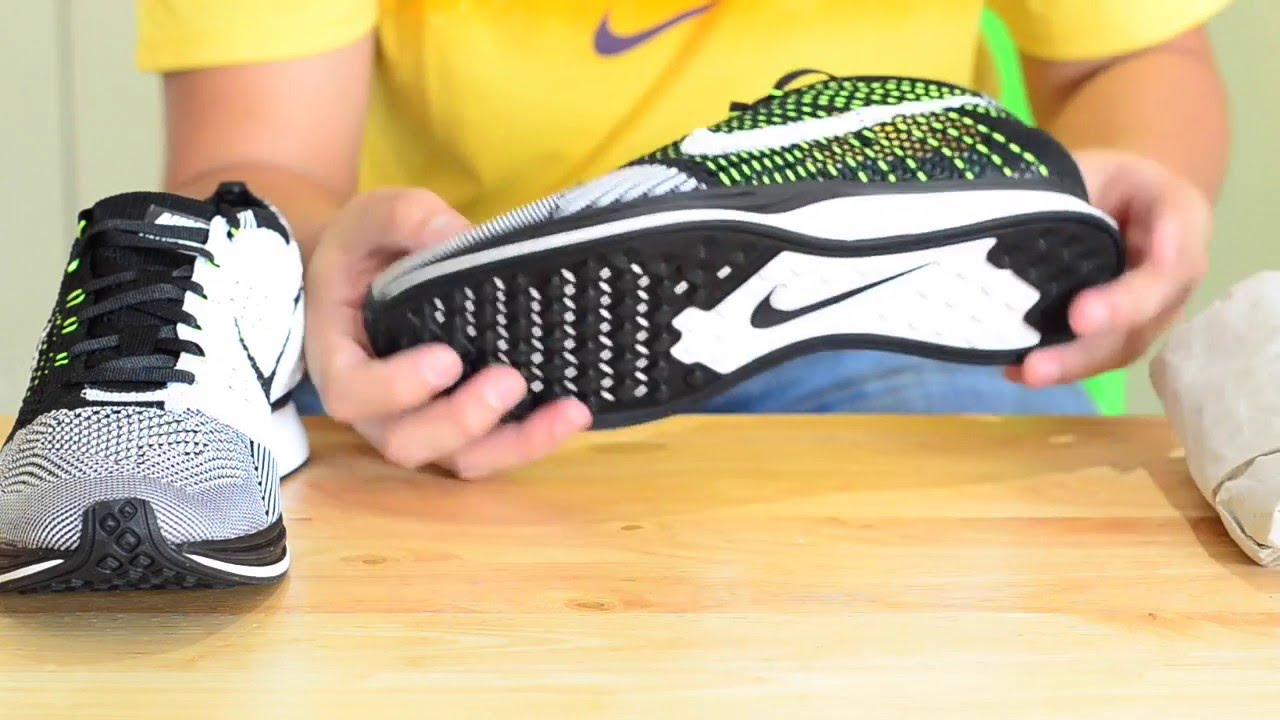 ebb899fd38771 ... cheap day of valor unboxing 1 3 nike flyknit racers sherbet orca volt  8800e 075df ...