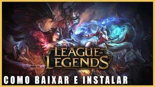 Como Baixar LOL (League of Legends) Grátis Atualizado 2018!