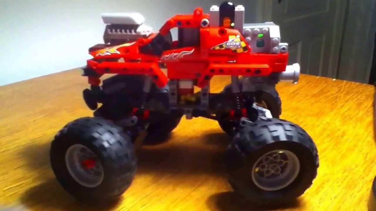 lego rc monster truck
