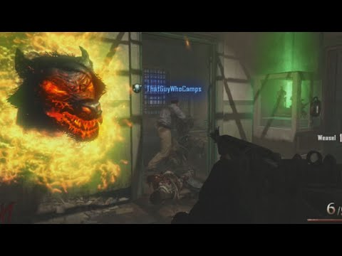 Mob of the Dead: First Ever Game! w/ ThatGuyWhoCamps, KINGJAQ & Christian - Black Ops 2 Zombies