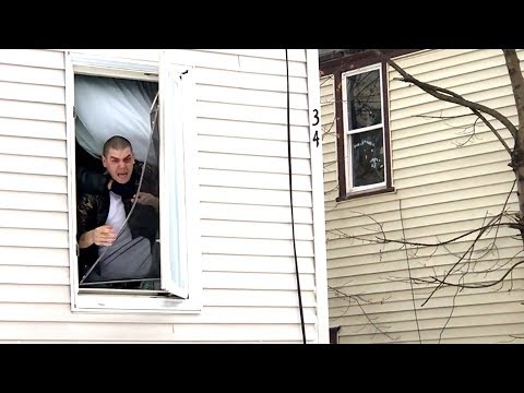 Lewiston Police arrest fugitive (Warning: This video contains graphic language.)