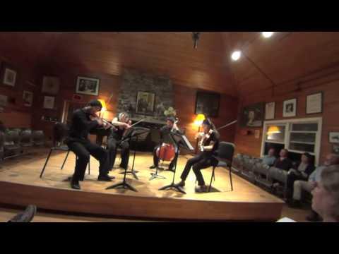 Mendelssohn String quartet in a minor, Op. 13. No. 2