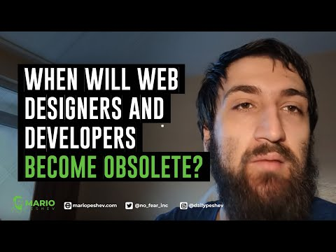 When Will Web Designers and Developers Become Obsolete?