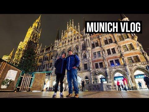 A NIGHT IN MUNICH, GERMANY | TRAVEL VLOG
