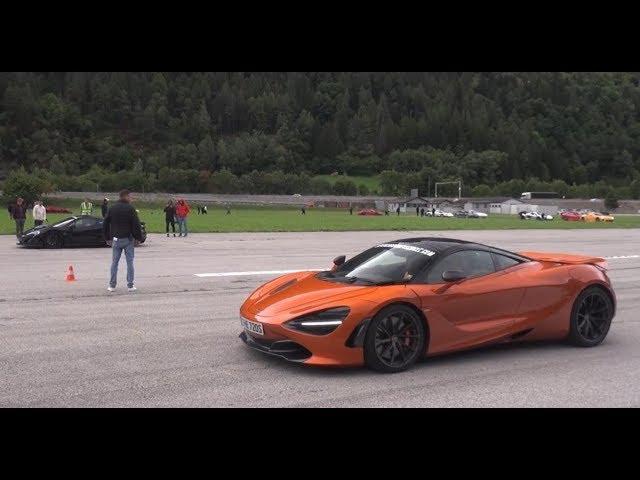 Drag Race Mclaren 720S Vs Mclaren P1 Other Supercars